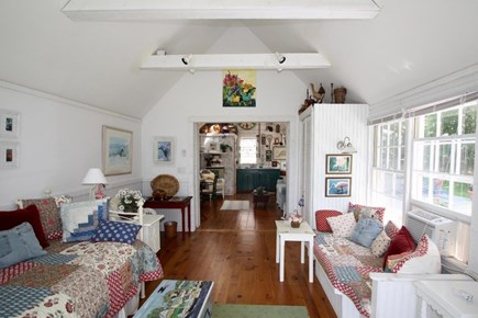 West Tisbury Martha's Vineyard vacation rental - Cottage's country studio