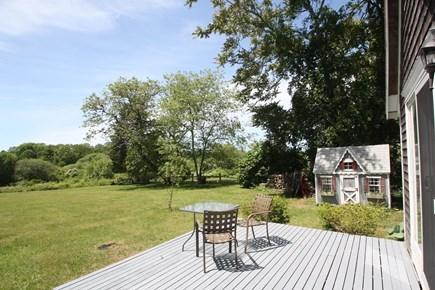West Tisbury Martha's Vineyard vacation rental - View of back yard