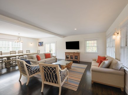 Vineyard Haven Martha's Vineyard vacation rental - Spacious Designer Furnished Living Room perfect for entertaining