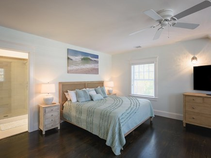Vineyard Haven Martha's Vineyard vacation rental - 2nd floor Master Bedroom with Sitting Area and Ensuite Full Bath