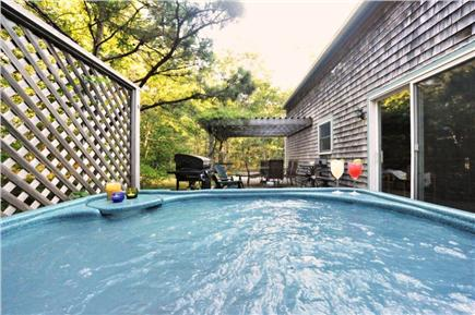 Edgartown Martha's Vineyard vacation rental - Hot Tub on back deck