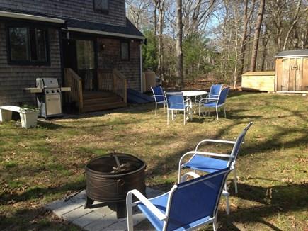 Oak Bluffs Martha's Vineyard vacation rental - Back Yard