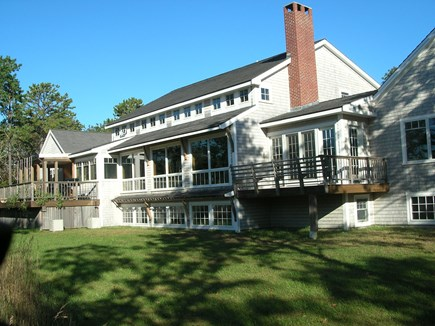 West Tisbury Martha's Vineyard vacation rental - Privacy on 9 acres.  Access to walking trails and State Forest.