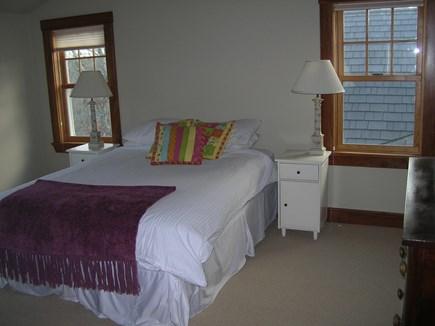 West Tisbury Martha's Vineyard vacation rental - 2nd floor guest BR - Queen bed, en suite full bathroom.