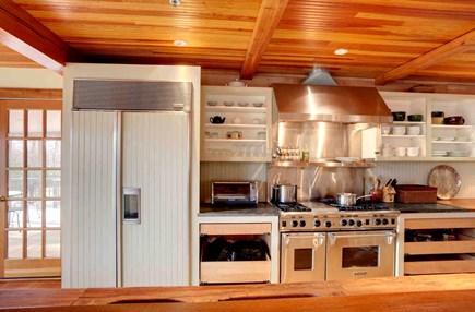 West Tisbury Martha's Vineyard vacation rental - Gourmet kitchen - Wolf range, 2 dishwashers, counter space.