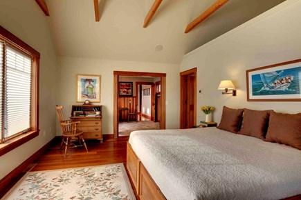 West Tisbury Martha's Vineyard vacation rental - Master bedroom with king bed, en suite bath and sitting room.