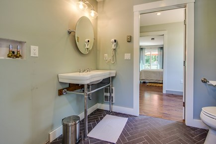 Vineyard Haven Martha's Vineyard vacation rental - Get ready for the day in this full bathroom.