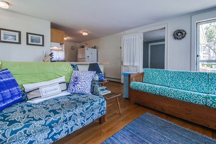 Vineyard Haven Martha's Vineyard vacation rental - There is room for everyone in the bright and airy living room.