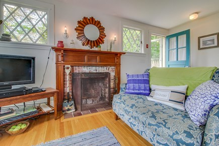 Vineyard Haven Martha's Vineyard vacation rental - Relax after a day at the beach in front of the cable TV.