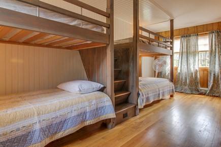 Vineyard Haven Martha's Vineyard vacation rental - Two sets on twin bunk beds located in the second bedroom.