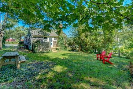 Vineyard Haven Martha's Vineyard vacation rental - The family dog will love this large back yard.