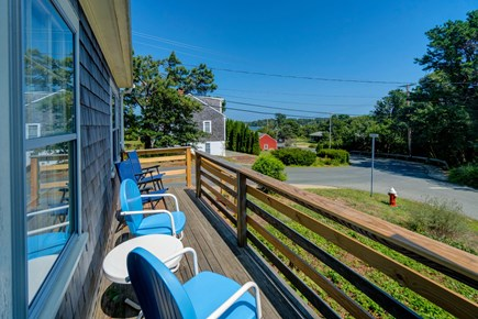 Vineyard Haven Martha's Vineyard vacation rental - Sip your coffee on the back deck.