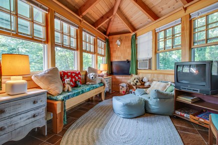 Vineyard Haven Martha's Vineyard vacation rental - After a long day at the beach, relax in front of the cable TV.