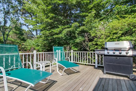 Vineyard Haven Martha's Vineyard vacation rental - Light the grill and hang out with family and friends on this deck