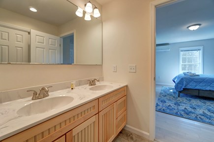 Oak Bluffs Martha's Vineyard vacation rental - Get ready for the day in this master bathroom.