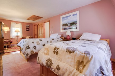 Edgartown Martha's Vineyard vacation rental - Both bedrooms have two twin beds apiece