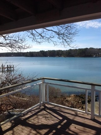Vineyard Haven Martha's Vineyard vacation rental - Tashmoo to the west from the second floor. Spectacular sunsets