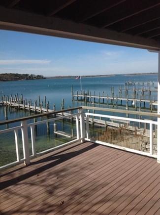Vineyard Haven Martha's Vineyard vacation rental - Second level deck to views of Vineyard Sound