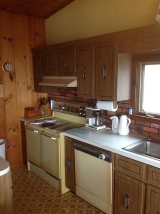 Vineyard Haven Martha's Vineyard vacation rental - 1970's Cottage kitchen interior second level w/fabulous views