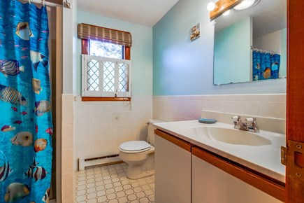 Edgartown Martha's Vineyard vacation rental - Full bathroom complete with shower and vanity