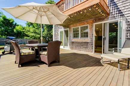 Edgartown Martha's Vineyard vacation rental - An expansive yard and deck and located near the center of town