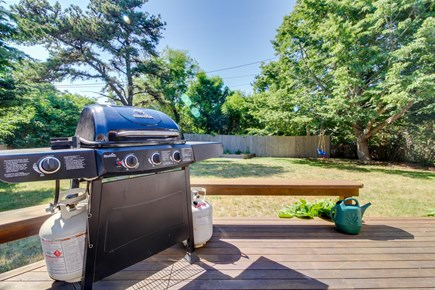 Edgartown Martha's Vineyard vacation rental - Return home each afternoon to fire up the gas grill