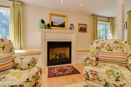 Edgartown Martha's Vineyard vacation rental - Play a board game by the magnificent wood fireplace