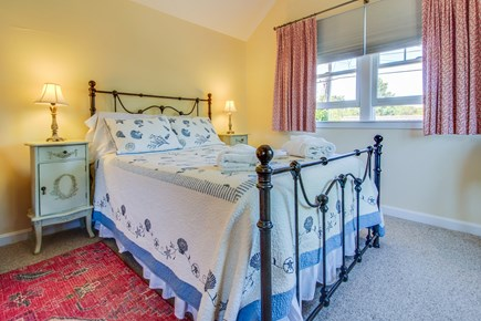 Edgartown Martha's Vineyard vacation rental - Spacious master bedroom has a queen-size sleigh bed