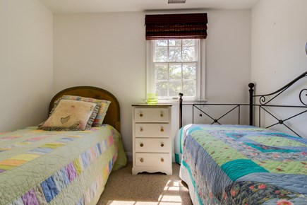 Edgartown Martha's Vineyard vacation rental - A bedroom with 2 twin beds is perfect for kids or younger guests
