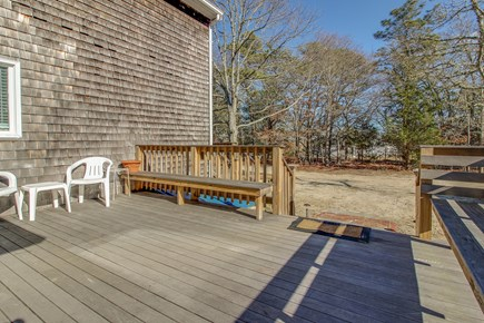 Oak Bluffs Martha's Vineyard vacation rental - Spend your night grilling and relaxing on the back deck.