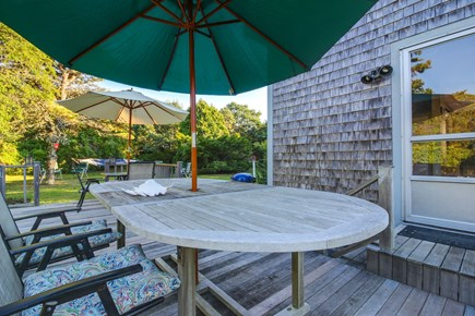 Edgartown Martha's Vineyard vacation rental - Head outside for a BBQ on the grill