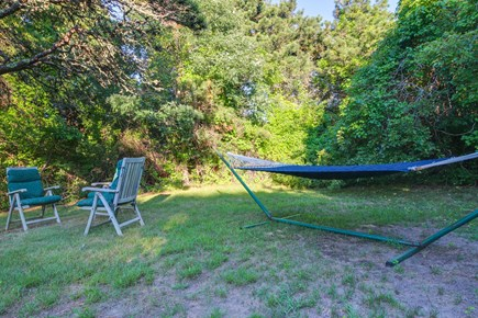 Edgartown Martha's Vineyard vacation rental - Relax in the hammock until the burgers are ready