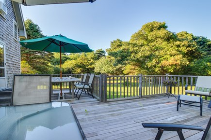 Edgartown Martha's Vineyard vacation rental - Unwind and star gaze from the back patio after a fun filled day