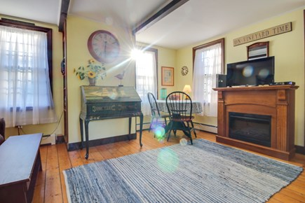 Edgartown Martha's Vineyard vacation rental - Wooden floors and ocean-themed decor fill this home