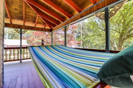 Oak Bluffs Martha's Vineyard vacation rental - Relax after a long day at the beach in this hammock.