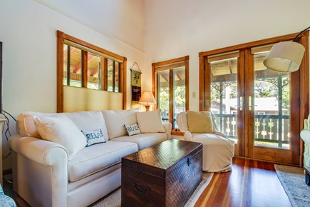 Oak Bluffs Martha's Vineyard vacation rental - Spend time with loved ones in this light and airy living room.