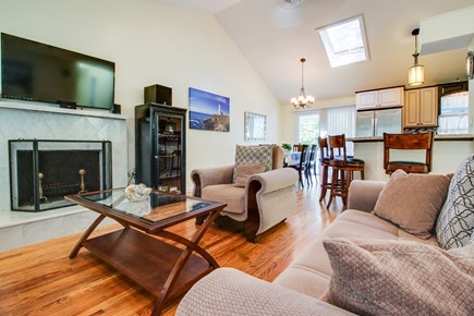 Oak Bluffs Martha's Vineyard vacation rental - Have a relaxing night playing board games in the living room.