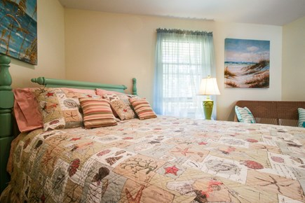 Oak Bluffs Martha's Vineyard vacation rental - Rest your head after a long day at the beach in this queen bed.