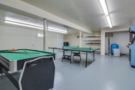 Edgartown Martha's Vineyard vacation rental - Start up a game of pool or table tennis in the gameroom