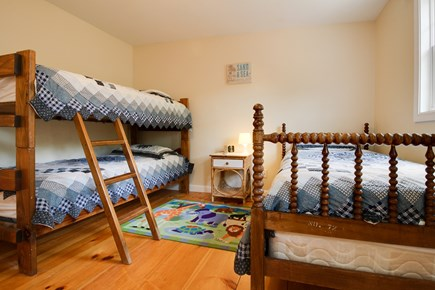 Edgartown Martha's Vineyard vacation rental - Twin bunk and a double bed offers more space to relax and sleep