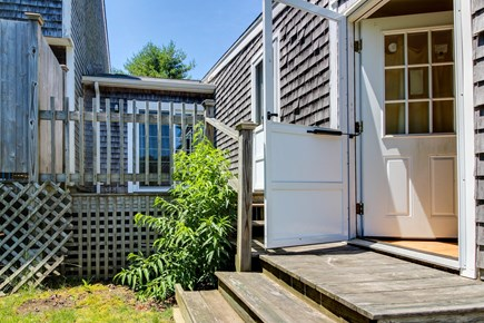 Edgartown Martha's Vineyard vacation rental - The outdoors is easily enjoyed through the side doors