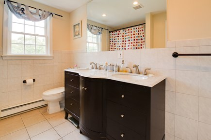 Edgartown Martha's Vineyard vacation rental - There is plenty of space to freshen up with the double vanity
