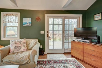 Edgartown Martha's Vineyard vacation rental - There's a flatscreen TV with a DVD player for your entertainment