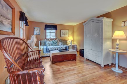 Edgartown Martha's Vineyard vacation rental - The entryway opens to a den to the left - complete with a daybed