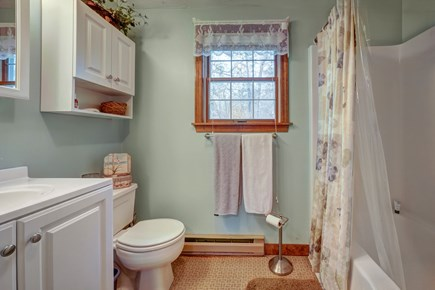 Edgartown Martha's Vineyard vacation rental - The bathroom offers plenty of space for everyone to freshen up