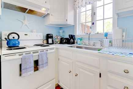 Oak Bluffs Martha's Vineyard vacation rental - Fridge, dishwasher, electric range & kitchen accouterments galore
