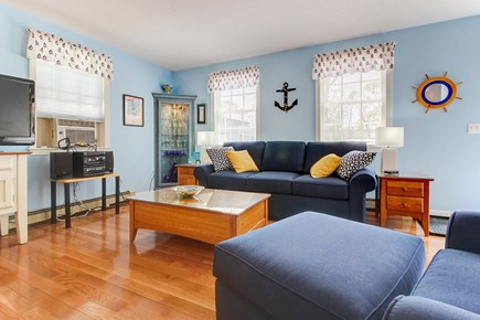 Oak Bluffs Martha's Vineyard vacation rental - Hardwood floors throughout & flatscreen TV with a DVD collection