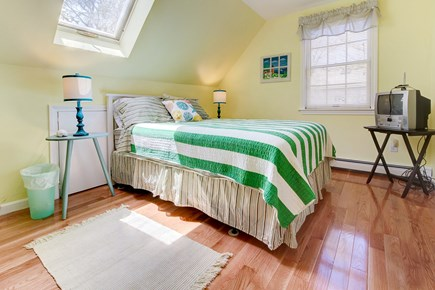 Oak Bluffs Martha's Vineyard vacation rental - A lovely skylight covers this queen bed with TV