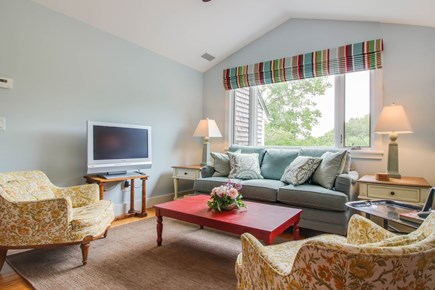 West Tisbury Martha's Vineyard vacation rental - The cozy living room provides space for everyone