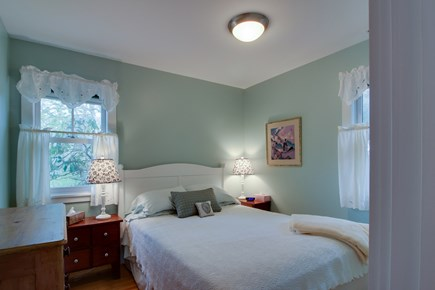 West Tisbury Martha's Vineyard vacation rental - Main level bedroom with a queen bed